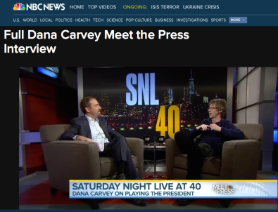 Meet the Press - Dana Carvey